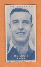 Arsenal Reg Lewis